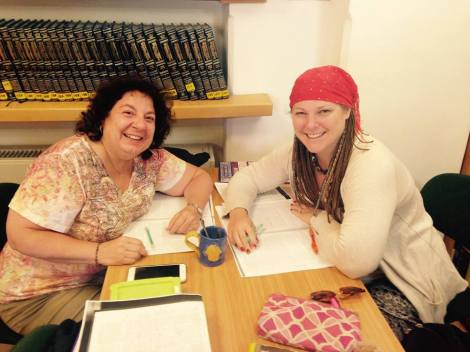 Karen and Aviva Talmud CY 6.2016